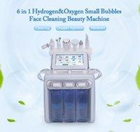 6 in1 H2-O2 Hydro Dermabrasion RF Bio-lifting Spa Facial Hydro Facial Microdermabrasion Machine Water Dermabrasion Beauty machin