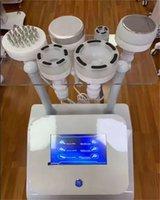 high end 6 in 1 Beauty slimming vacuum radio frequency 80K ultrasonic cavitation machine whole body massage skin Maintenance Handle Accessories
