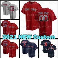 15 Dustin Pedroia Jersey 34 David Ortiz Red 2021 New Custom 35 Matt Andriese Boston 32 Matt Barnes Rafael Devers Andrew Benintendi Sox