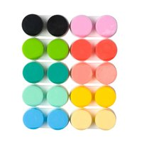 Kontakt Lens L + R Kılıfları Depolama Tutucu Islatma Konteyner Seyahat Gözlük Aksesuarları Kutusu Için Lensler Toptan Rastgele Renk