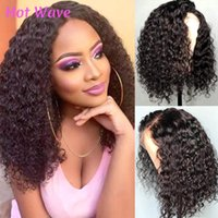 Lace Wigs Water Wave Wig 4x4 Closure Wet And Wavy Short Cut Bob HDLace Frontal Black Women Brazilian Virgin Human Hair Curly