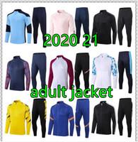 20 21 22 22 Dortmund Chelsea Real Madrid Marseille Team Soccer Training Suit Suit SuiteSelement 2020 Giacca da calcio Jogging Chandal