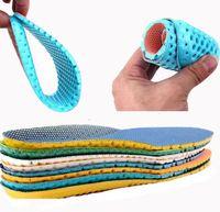Quente 1 par unisex stretch respirável sapato peças de desodorante sapato suave relevante dor correndo almofada palmilhas pad inserir 35-40 drop frete