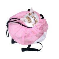 ناقلات القط، الصناديق المنازل متعددة الوظائف حقيبة الناقل المحمولة حقيبة يد طوي السفر هريرة الحمل شبكة الكتف أكياس الحيوانات الأليفة الاستمالة حمام