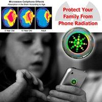 2021Hot Realy Telefone Celular Anti Radiação Adesivo Brilhante, Quantum Shiled Scalar Energy Chip 100 pcs / lote por frete grátis
