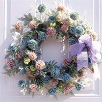Decorative Flowers & Wreaths Floral Wreath Creative Hanging Flower For Wedding