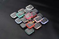 PC защитные чехлы 3D 9H твердость закаленного стекла экрана протектор для Apple Iwatch 38 / 40/42 / 44 мм серии 6 SE 5 4 экрана