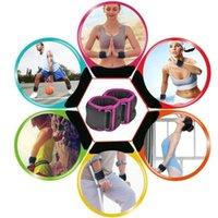 Supporto per cavigliera Attrezzature per il fitness Cinturino Imbottito Double D-Ring Brece Peso Sport Sicurezza Abductors Gamba Formazione per le gambe Regalabl J0v9