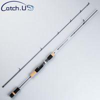 Catch.u 1,8M Рыболовный стержень Углеродистые стержни UL Lure Литье стержня Ультра легкая мощность Мягкая рыболовная линия CARP 2-5LB WT 0,8-5G