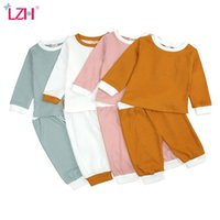 Clothing Sets LZH Born Baby Girl Clothes Long Sleeve Boys 2021 Toddler Kids Tracksuit Autumn Children's Sports Suit