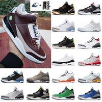 New Color Jumpman Sports Mens Tamanho 47 Sapatos de Basquete Kaws Sneakers Ao Ar Livre Cimento Preto Fogo Vermelho Branco Roxo Roxo Formadores Cinza Cool
