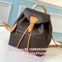 2021 new leather ladies leather backpack, schoolbag, senior designer women fashion backpack pocket waist backpack.