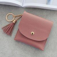 Wallets Women Wallet Simple Short Tassel Coin Purse Card Holders Handbag Female Womens And Purses Portfel Damski #T2P
