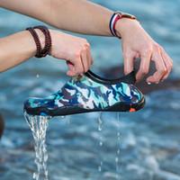 2021 hombres y mujeres aqua zapato al aire libre descalzo suave yoga fitness slip-on water zapatos unisex verano playa zapatillas de deporte