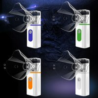 Low Decibel Ultrasound Atomizer Home Inhaler Nebulizer steamers Handheld Adult&Kid Portable Micro Mesh Atomizers High Lows 2Gear Humidifier