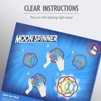 Fidget Cambió el juguete de la luna los bloques de rotación de la bola de las lunas Actividad mental padre-niño Interactive Play Toys DecomPression Autism regalos