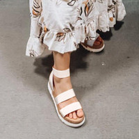 Женские Сандалии платформы Женщины Peep Toe High Dihope каблуки Пряжки лодыжки Sandalia Espadriilles Женские сандалии Обувь Sparx Sandals Blue Boot 689n #
