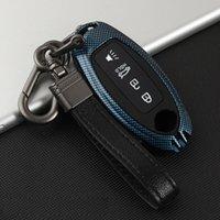 Portachiavi per auto in metallo in lega di zinco per Nissan Rogue / X-Trail Qashqai Murano Versa nota per infiniti accessori