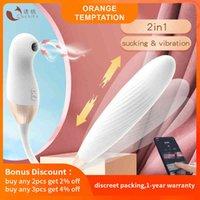Cachito chupando vibradores de empuje clítoris céntimo estimulador g Spot consoldes para mujeres Estimulación del clítoris Poderosos juguetes sexuales adultos 210810