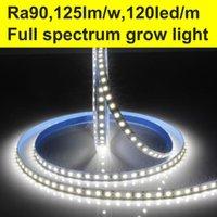 Strips 5M~80M Full Spectrum High CRI+90 2835 12V 24V LED Light For Home 8mm Width 120LED m