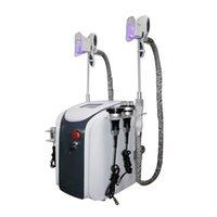 أحدث المهنية cryolipolys الدهون آلة التجميد التخسيس التجويف rf آلة خفض الدهون ليزر الليزر 2 تجميد رؤساء شحن مجاني