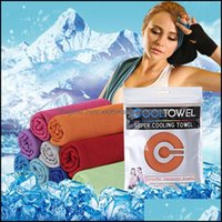 Textiles Home & Gardensports Fast Fitness Running Sweat Absorption Cooling Cold Outdoor Mountaineering Sports Wipe Ice Towel Owd2318 Drop De