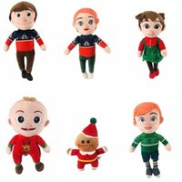 Christmas Cocomelon JOJO Plush Toy Doll Cocomelons Family Stuffed Toys Boys Girls Brithday Gifts Xmas Party Decoration G101GXYI