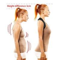 Adultos ombro corredor de correção de correção suporte ombro corretor de postura ajustável