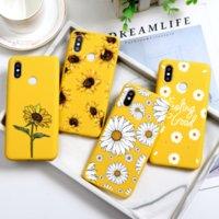 Cas de téléphone TPU à fleurs TPU pour Xiaomi Redmi Note 8T 8 7 6 K20 K20 9 PRO Max 5 4x 6A 5A 5A 5 PLUS S2 Couverture S2 Daisy Funda Etui Etui