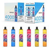 Genuine Vapmod QD32 Disposable E Cigarettes 4000 Puffs 12ml Prefilled Vape Pen Stick Rechargeable 650mAh Vapor AIO Pod System