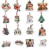 PVC 크리스마스 장식 마스크 산타 클로스 가족 2 3 4 5 6 머리 귀여운 크리스마스 트리 장식 13 스타일 선택 DHL XD24730