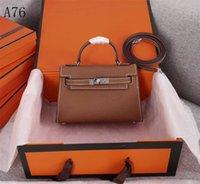 Designer Brands Sell 2021 Women Shoulder Bags Women's Genuine Leather h Lock Flap Black Pochette Twist Lady Crossbody Bag Purse 90cn9 Designers Handbag
