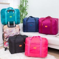 Storage Bags Big Foldable Travel Luggage Carry-on Organizer Hand Shoulder Showerproof Convenient Portable Stable Cases