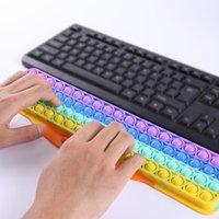 Klavye Silikon itme Kabarcık Fidget Oyuncaklar Müzik Ses Parmak El Destek Deratizasyon Pioneer Oyun Tahtası Çocuklar Yetişkinler Için FWF8956
