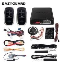 CarBest pke keyless entry system start stop remote engine start stop car alarm system security alarm push start remote dc12v
