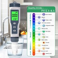 Meters Digital PH Meter With ATC Tester 3 In 1 TDS Temp 0.01 Resolution High Accuracy Pen Type Water