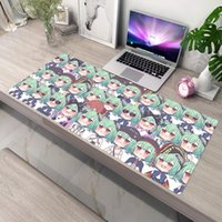 Mouse Pads & Wrist Rests Gaming Mat Hololive Deskpad Table Pad For Computer PC Gamer Cabinet Anime Mousepad Xxl Diy Kawaii Accessories