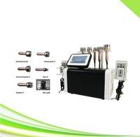 SPA 살롱 6 in 1 Lipolaser 무선 주파수 피부 강화 RF 초음파 Cavitation 40K 슬리밍 진공 캐비테이션 시스템