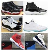 Fibra de carbono real 11 criados Concord 45 Space Jam Zapatos de baloncesto Men 11s Legend Blue Cool Grey Gym Gym Red Midnight Navy Mejores zapatillas