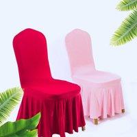 Coperchi sedia Copertura da sala da pranzo con seggiovia sul reggiseno per sedie Cucina cuscino decorativo cuscino da sposa