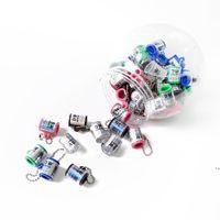 라운드 시가 커터 흡연 커터 플라스틱 연기 가위 시가 액세서리 키 콩 체인 팁 절단 휴대용 가볍게 AHD5446