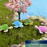 4шт мини черепаха черепаха Миниатюрная фея садовое украшение DIY кукольный дом террариум микро ландшафт украшения