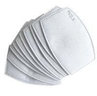 Maske Anti Haze-Maske PM2.5 Mundfilter für austauschbare Filterscheibe 5 Schichten Vlies aktiviert Kohlenstofffilter Gesichtsmasken Dichtung FY9039