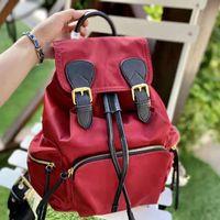Pink sugao backpack women back pack shoulder nylon boy and girl school book bag bhomme high quality luxury designer handbags 5color choose