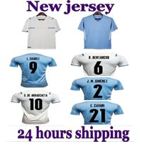 21-22 Uruguay Jersey Soccer Jerseys Lokal Online-Shop Yakuda Dropshipping akzeptiert L.SUÁREZ 9 DE ARRASCAETA 10 E.CAVANI 21 D.Godín 3 R.Bentancur 6 Fußballuniformen