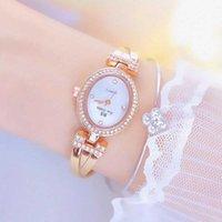 Saatı Kadın Saatleri Bayanlar Kuvars Kadınlar için Bayanlar Saatler 2021 HT Satış Moda Küçük Arama Bileklik Lüks