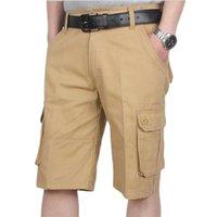 Men's Shorts Cargo Hommes Cool Camouflage Summer Coton Casual Pantalons Courts De Marque Vêtements Confortable Camo