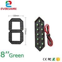 """8 """"Green Color 7 Seven Segment LED Number Modulo Prezzo del gas LED Display Segni Diesel Prezzo Modulo Digitale all'aperto"""