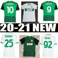 2020Caputo Sassuolo Soccer Jerseys Berardi 2021 Trore Djuric Commotle قميص 20 21 M.Lopez Boga Defrel Locatelli Jersey