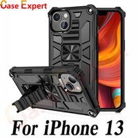 Hybrid Defender Shockproof Kickstand Cases for iPhone 13 12 11 Pro Max Plus XR XS Samsung Note 20 Ultra S10 5G S21 A20